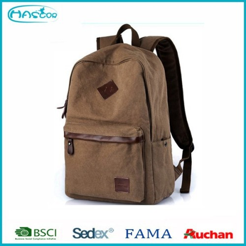 Cute casual canvas school backpack on sale