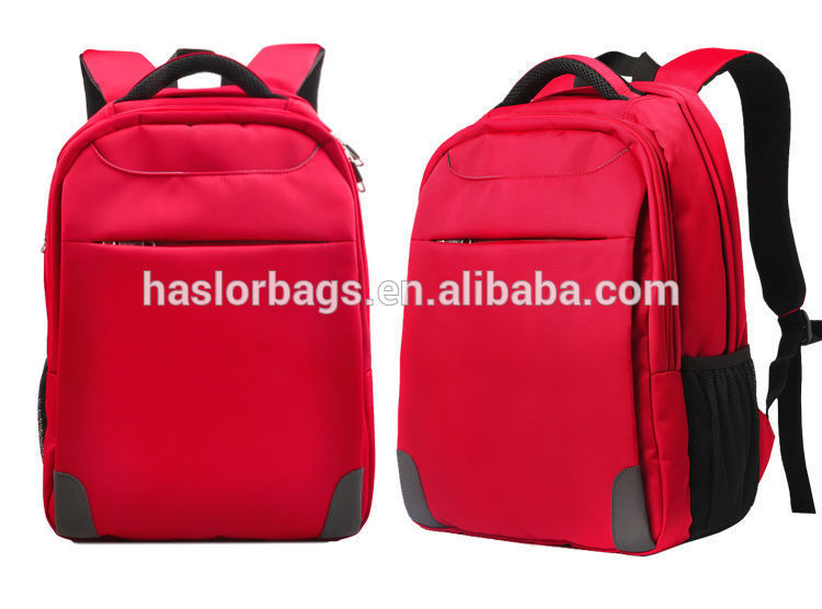 2015 High capacity and waterproof one handle backpack for laptop
