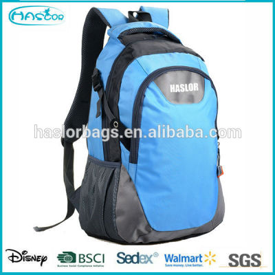 Custom waterproof polyester computer backpack for 15 inch laptop