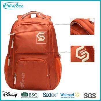 2015 Latested conception mode adolescents sacs à dos avec un ordinateur portable poches