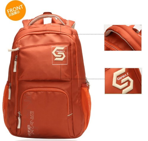 2015 Latested Design Fashion Teens Backpacks With Laptop Pockets