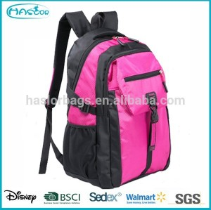 Top Selling ! Wholesale Fashion Polyester High School Backpack ,15 Inch Laptop Backpack