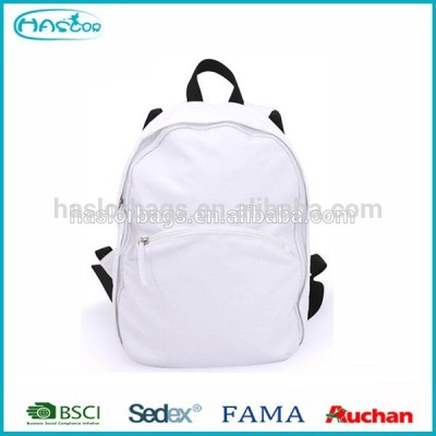 2015 hot sale custom wholesale canvas backpack