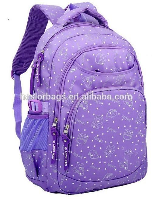 Large children school bike backpack