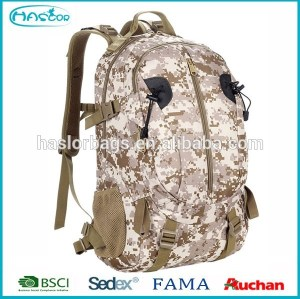 High Quality New Style Camouflage Backpack Military Pattern Backpack