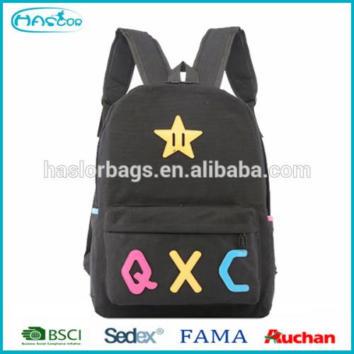 2016 Manufacturer Fashion Custom High School Backpack Bag