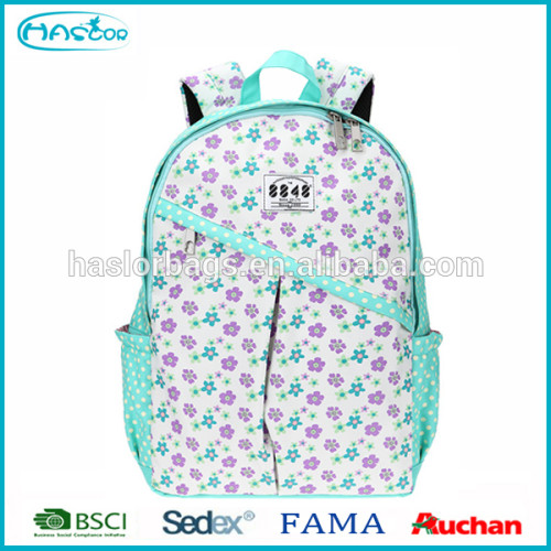 2016 Wholesale Custom Fashion Backpack Bag For Girls