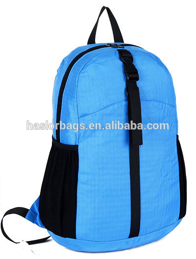 Fold Cheap Plain Color Backpack for Teenager