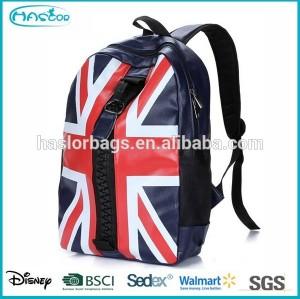 New Design of PU Fashion Backpack Big Zipper for Teens