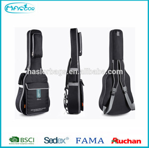 2015 Very cool and high quality guitar backpack with china factory