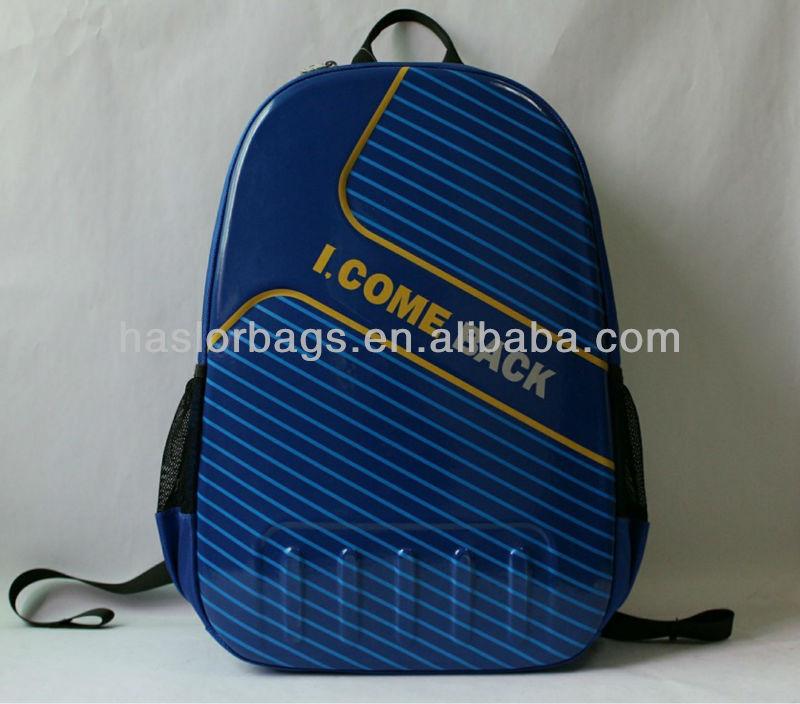 Teen Boys Blue Color Mesh Side Pockets Backpack
