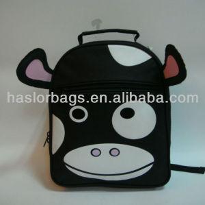 Children Cow Pattern School Backpack