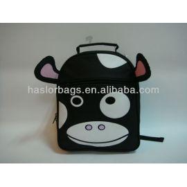 Enfants vache école sac à dos