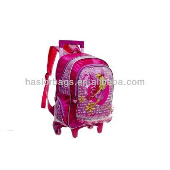 Primry School Girls chariot sac à dos nouveau Design voyage sacs