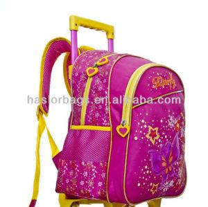 High Quality Little Girls Trolley Bag Backpack