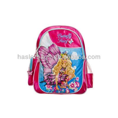 Papillon fille impression ergonomique école sac