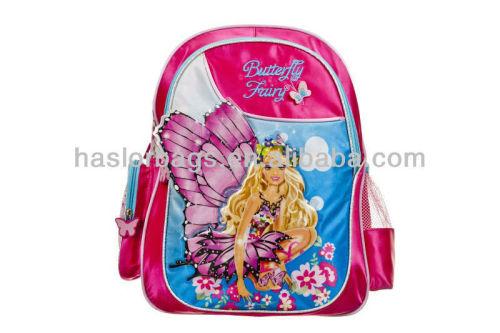 Butterfly Girl Printing Ergonomic School Bag