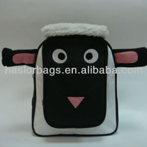 plush animal school bag-kid's backpack