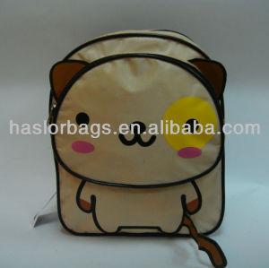 2012 conception chat en forme 420D sac d'école sac à dos