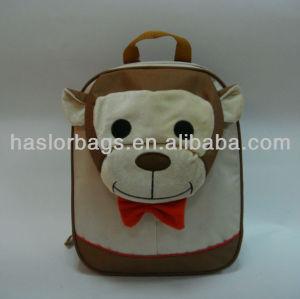 Enfants sac d'école de fantaisie chien en forme animale sac à dos