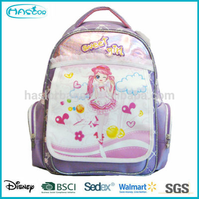 New Style Cheap Wholesale School Girls Bag
