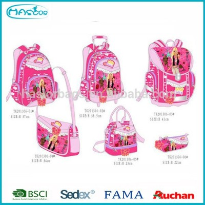2016 Fashion Kids Trolley School Bag