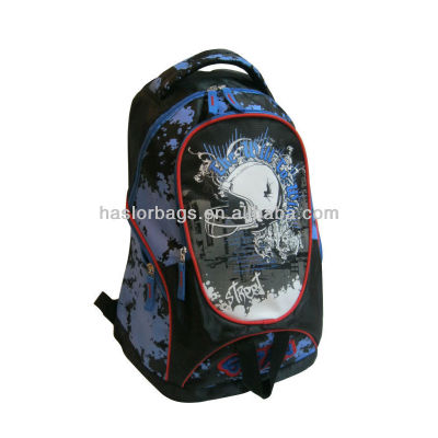 2016 New 600D Polyester School Backpack for Boys