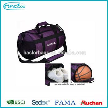 Colorful sport nylon ballon de football sacs