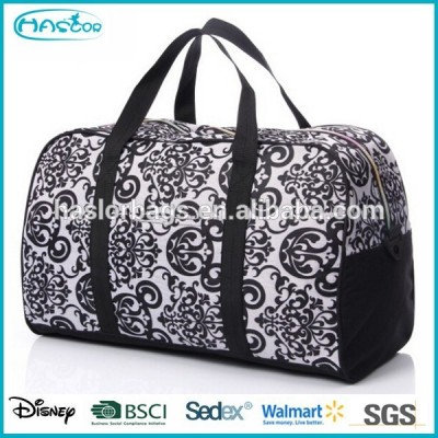 Fashion Flower Pattern Printing Latest Model Travel Bags for Woman