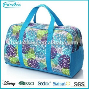 Lady Flower Printing Sport Bag/Travel Bags for Sale