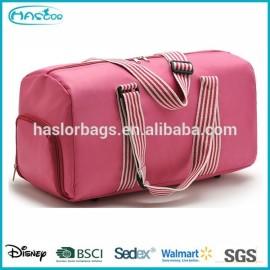Haslor nom marque voyage sacs avec chaussures compartiment