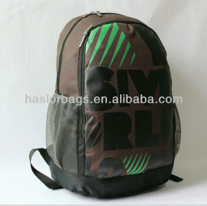 High Quality Brown Colour Leisure Ourdoor School Bag