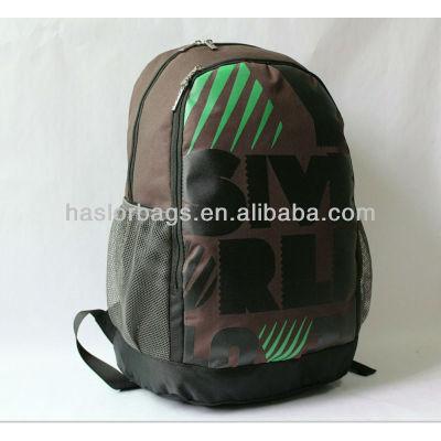 Haute qualité Brown couleur loisirs Ourdoor sac d'école