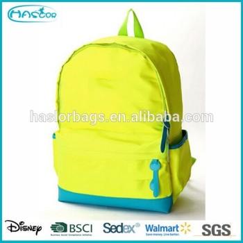 Mode sac à dos Fluorescent couleur pour filles