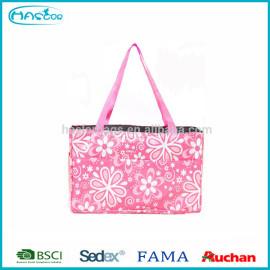 2014 gros mode nouveau style rose fleur bébé mère sac, Vérification sac à couches