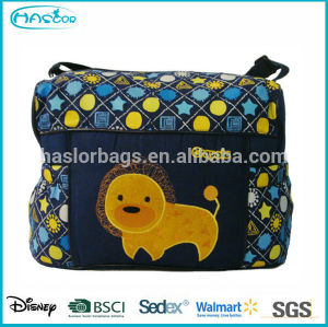 Extra Large Outdoor Fashion Chevron Wholesale Diaper Bags