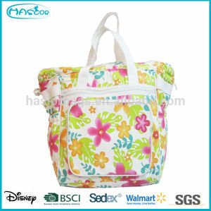 Wholesale Hot Selling Fashion Durable Soft Handle Audlt Diaper Bag For Baby