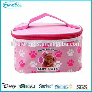 2015 wholesale cosmetic travel bag for girls