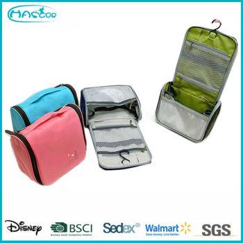Gros custom belle pendaison coréenne sac cosmétique pour voyage