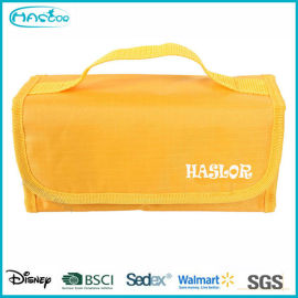 Gros étanche PVC promotionnel pas cher pliage sac cosmétique