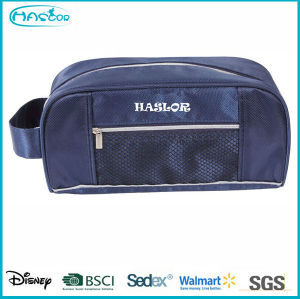 Custom Small Waterproof Polyester Travel Cosmetic Bag for men