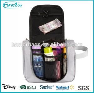 Custom hanging cosmetic bag organizer for travel
