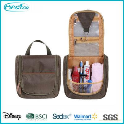 Wholesale custom Folding travel Hanging cosmetic bag for men