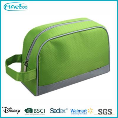 Wholesale custom Mini polyester cosmetic bag for men