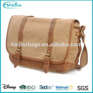 Blank Canvas Shoulder Messenger Bags Wholesale