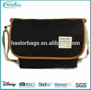 Hot new products college boys shoulder bags, latest cheap side bags for college