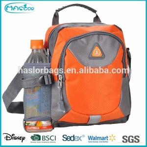 shoulder bag with water bottle holder