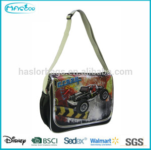 New Model Fashion PVC Cheap School Shouler Messenger Bags