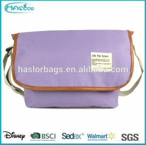 Wholesale 2015 candy colored student shoulder bag for college student
