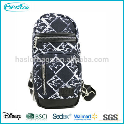 Mode toile Sling sacs gros pour hommes
